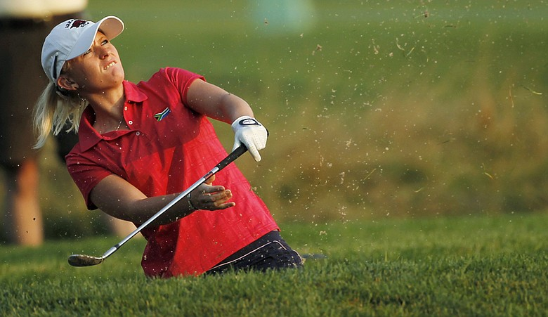 Kelli Shean during Round 2 of the U.S. Women's Open.