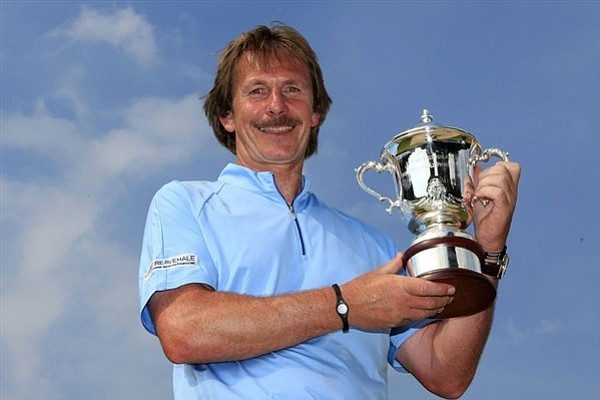 Englishman George Ryall won the inaugural Van Lanschot Senior Open, his first Senior Tour victory.