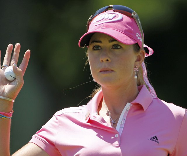 Paula Creamer during the final round of the U.S. Women's Open.