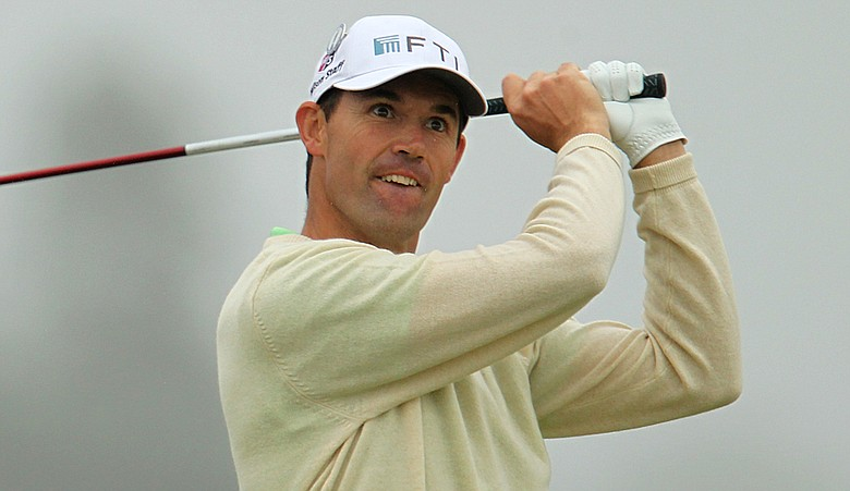 Padraig Harrington carded a first-round 73 at the British Open.