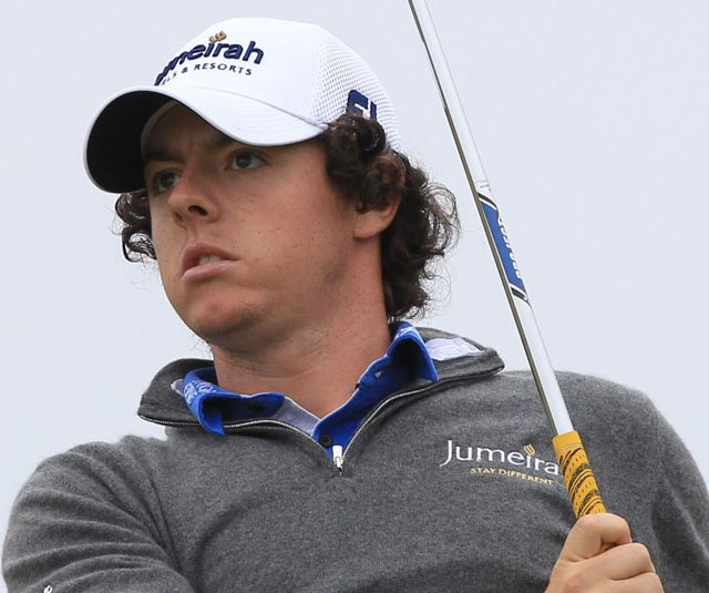 Rory McIlroy took an early lead during the first round of the British Open.
