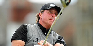 Late double puts Lefty well off Open pace