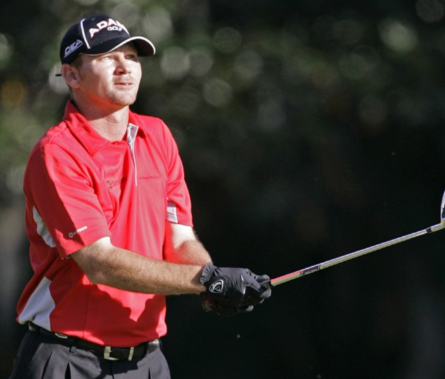 Tommy Gainey during the final round of the Children's Miracle Network Classic.