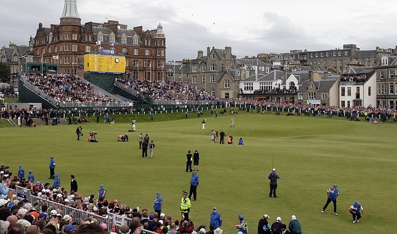Martin Kaufmann wouldn't have been upset to miss the final group walking up No. 18 at St. Andrews.