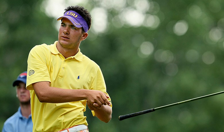 Curtis Thompson, shown here during the Round of 32 at the U.S. Junior Amateur early in 2010, sits one shot off the lead after the first round at the Junior Orange Bowl International at Biltmore Country Club in Coral Gables, Fla.