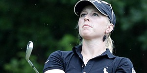 Pressel among leaders at Evian Masters