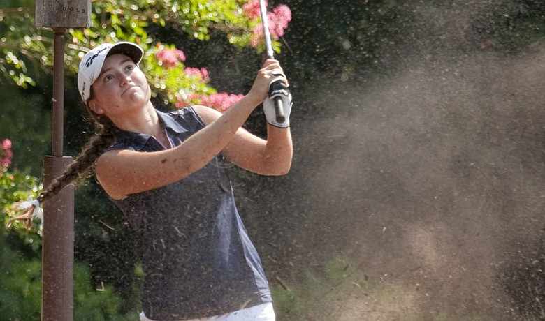 Victoria Tanco during the Round of 16 at the U.S. Girls' Junior Amateur.