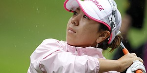 Mika Miyazato leads Evian Masters by a shot