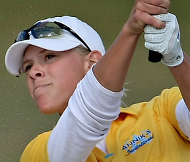 Sarah Brown at the 2009 AJGA Annika Invitational.