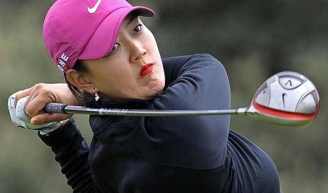 Michelle Wie during Round 1 of the Women's British Open.