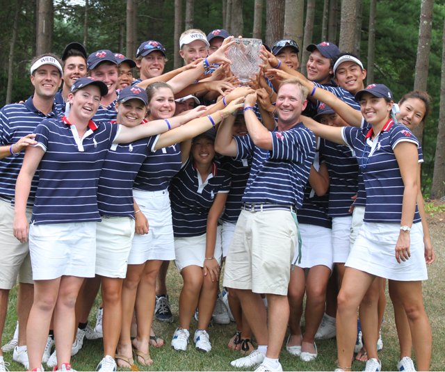 The West Team won the Canon Cup on July 29. 