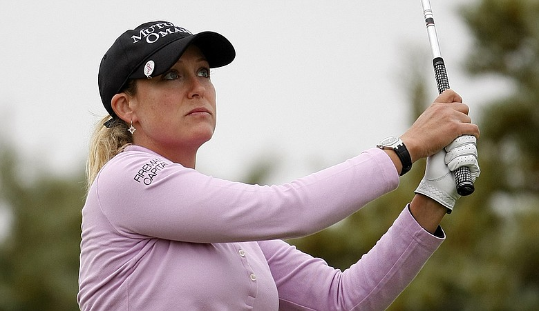 Cristie Kerr during Round 2 of the Women's British Open.