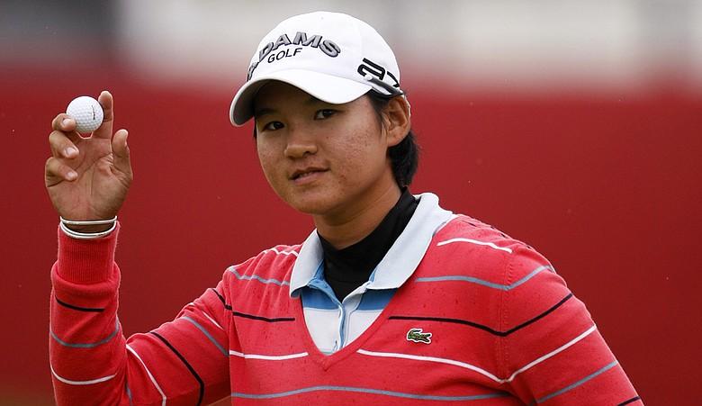 Yani Tseng during Round 2 of the Women's British Open.