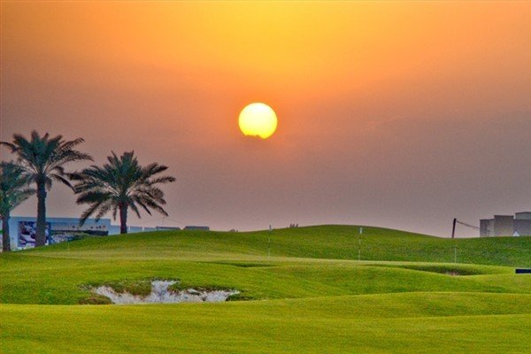 The Royal Golf Club in Bahrain.