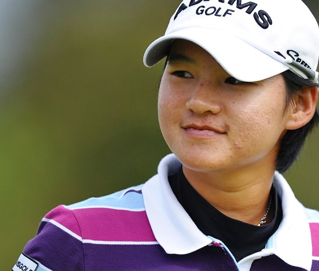 Yani Tseng during the final round of the Women&#39;s British Open.