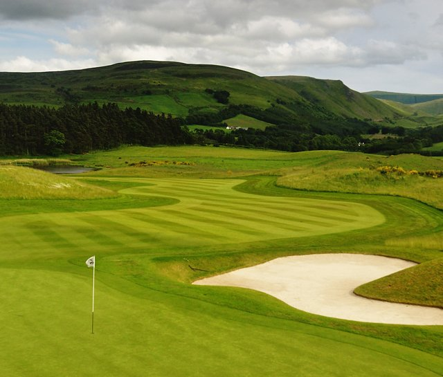 No. 3 at the PGA Centenary Course at Gleneagles Resort in Perthshire, Scotland.