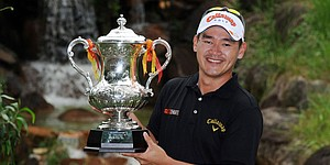 Que tops Rodgers for third Asian Tour title