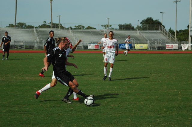 Star scorer Sergei Raad had a big goal against Mississippi, but it came too late. In a tough match with New Orleans, Raad was red-carded in the second half.