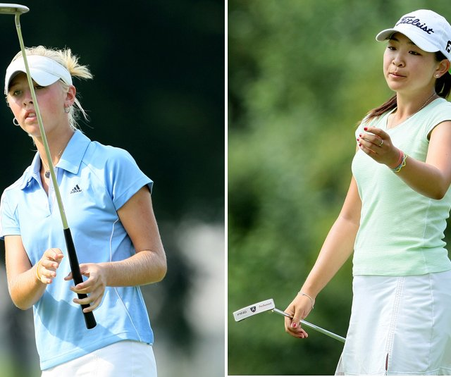 Jessica Korda and Tiffany Lua