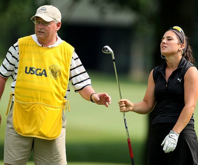 Rachel Rohanna lost in the Round of 32 at the U.S. Women&#39;s Amateur. 