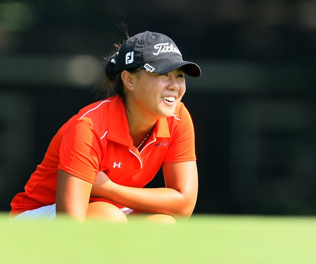 Danielle Kang during the quarterfinals of the U.S. Women's Amateur.