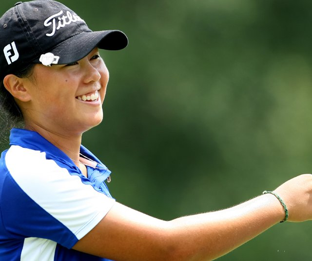 Danielle Kang during the semifinals of the U.S. Womens Amateur Championship.