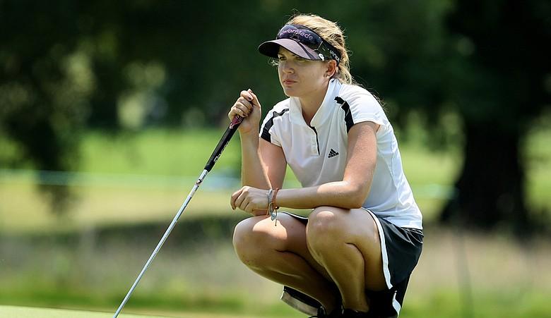 Sydnee Michaels during the 2010 U.S. Women's Amateur.