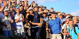 Bunker penalty knocks out Johnson at PGA