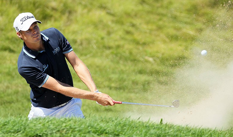 Nick Watney during the final round of the PGA Championship.