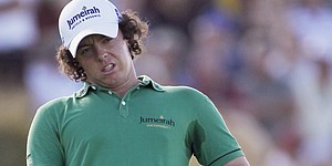 McIlroy finishes tied for 3rd again at PGA