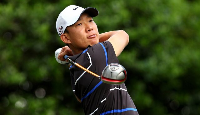 Anthony Kim during the Quail Hollow Championship.