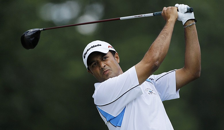 Arjun Atwal at the AT&T National.