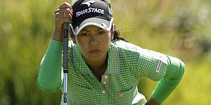Ai Miyazato leads by two at Evian Masters