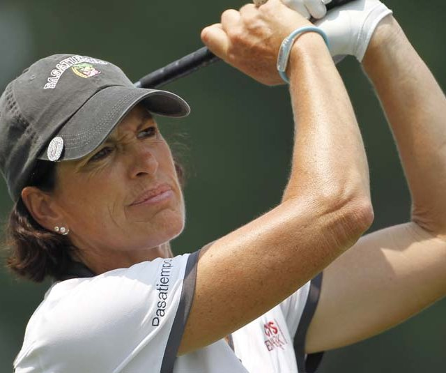 Juli Inkster during the U.S. Women's Open.