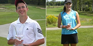DeMarois, Shipley claim Golfweek Jr. titles