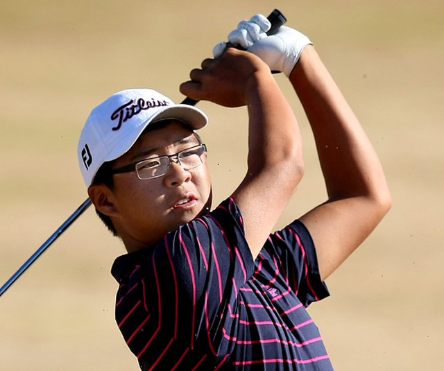 Jim Liu was among several notable players to miss the cut at the U.S. Amateur.