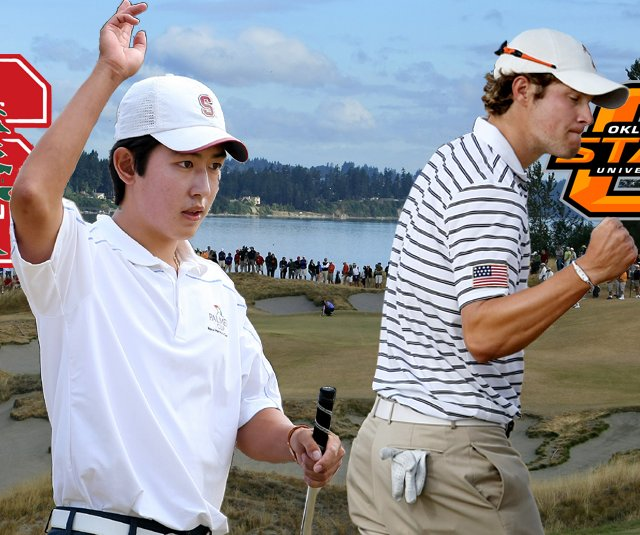 Stanfords David Chung and Oklahoma States Peter Uihlein will meet in the finals of the U.S. Amateur Championship.