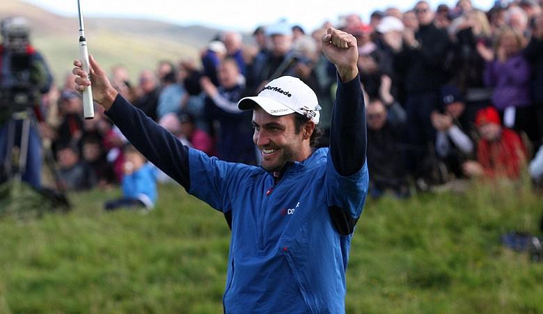 Edoardo Molinari won the Johnnie Walker Championship.