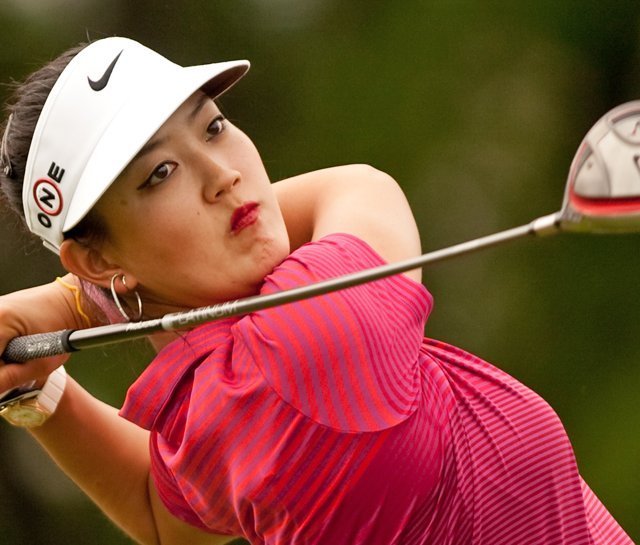 Michelle Wie during the final round of the Canadian Women&#39;s Open.