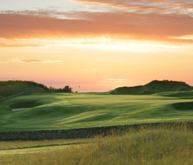 The Fairmont St. Andrews' Torrance Course (17th hole pictured) will be one of the courses used in the 2011 St. Andrews Pro-Am.