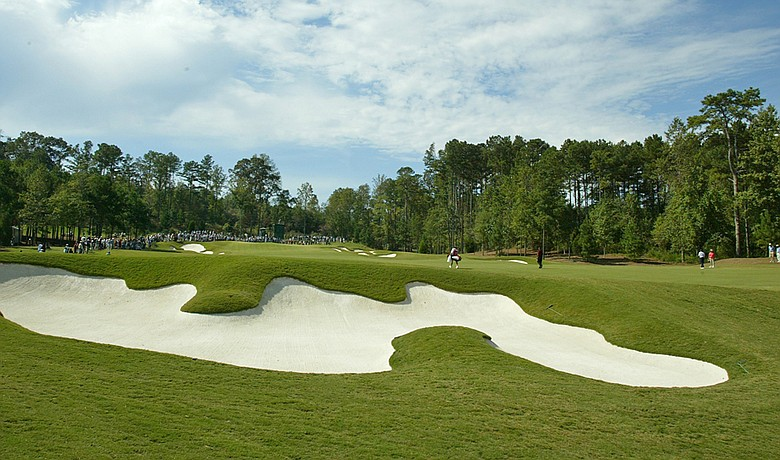 The Crabapple Course at the Capital City Club during the 2003 WGC-American Express Championship.