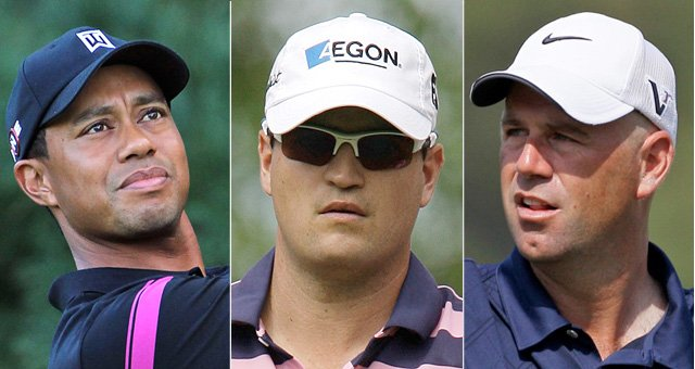 Tiger Woods, Zach Johnson and Stewart Cink are top candidates for Ryder Cup captain&#39;s picks. Corey Pavin makes his wildcard picks Tuesday.
