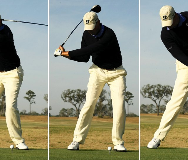 Matt Kuchar&#39;s swing sequence