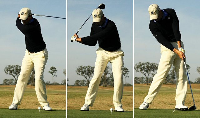 Matt Kuchar's swing sequence