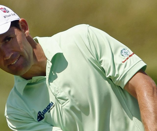 Padraig Harrington was one of three wild-card picks selected by Ryder Cup captain Colin Montgomerie.