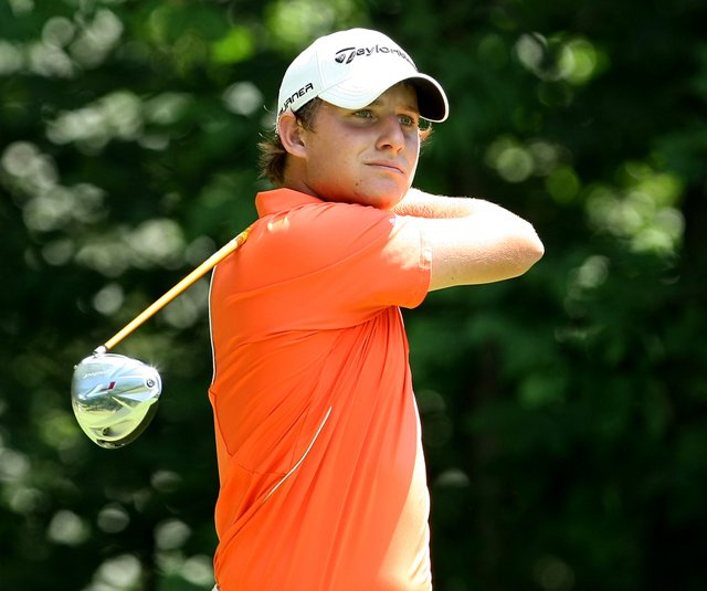 Emiliano Grillo during the U.S. Junior Amateur. 