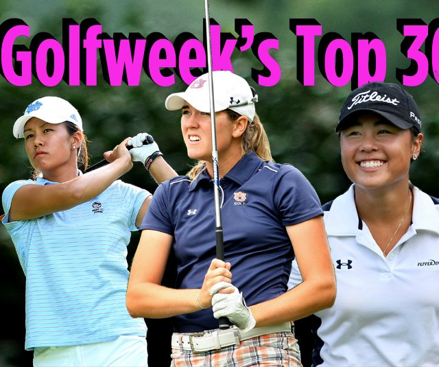 From left, Stephanie Kono, Cydney Clanton and Danielle Kang.