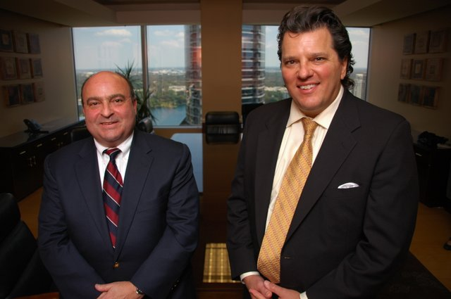 Lawyers Larry Brown, left, and Anthony Garganese, right, work for the firm that represents Winter Park, and now they join an elite list of attorneys from across the state. The 2010 Super Lawyers list recognized less than 5 percent of Florida's attorneys.