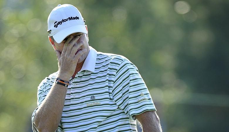 Scott Verplank during the Deutsche Bank Championship.