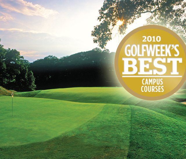 The Course at Yale, No. 1 on 2010 Golfweek&#39;s Best Campus Courses list.